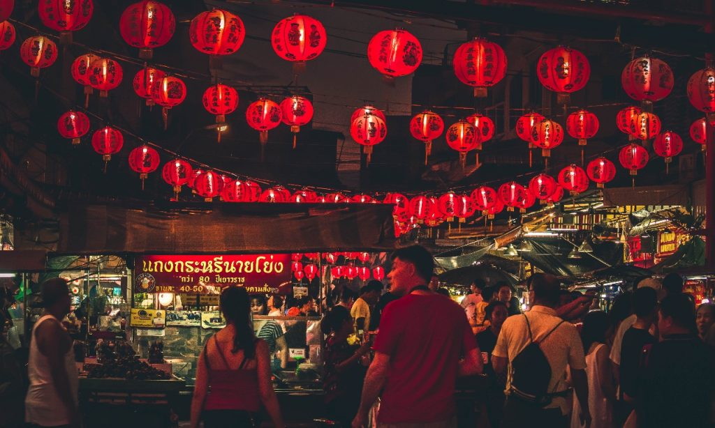Yaowarat Road Bangkok Chinatown