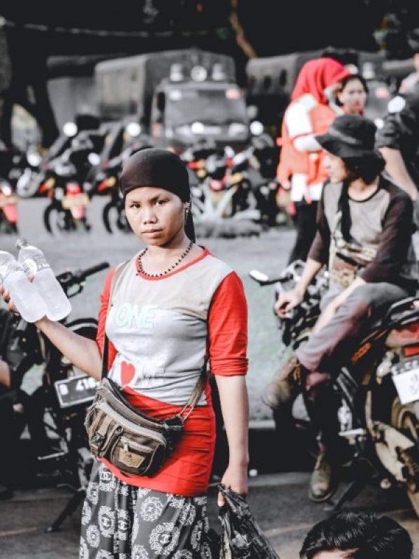 Jakarta Street lady